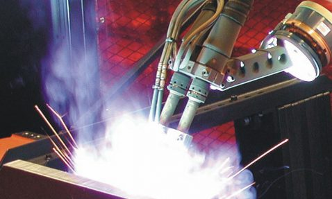 Robotic Tandem Torch Welding