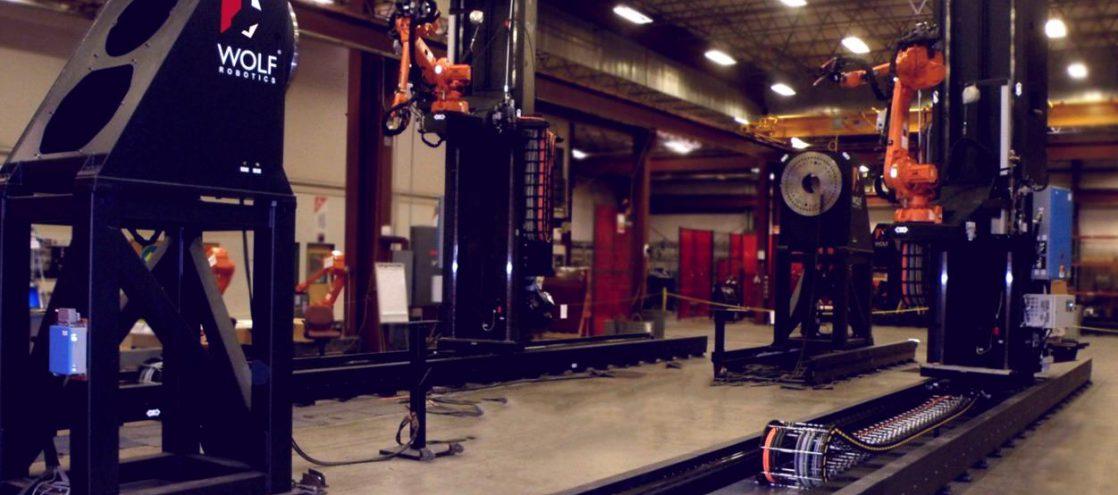Custom Robotic Welding Systems Wolf Robotics Industrial