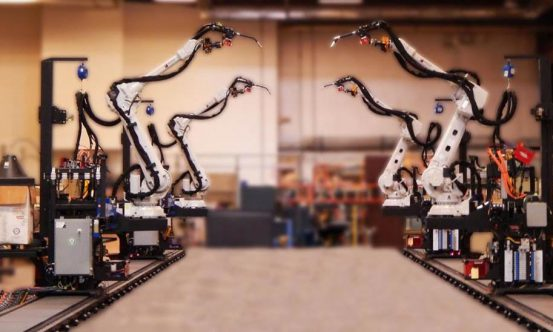 Training Wolf Robotics Industrial Robots