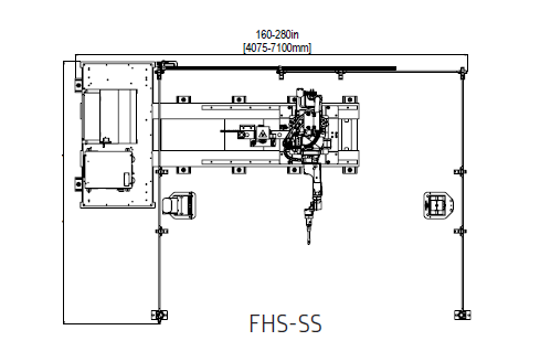 Fhs Ss Line Drawing Wolf Robotics Industrial Robots